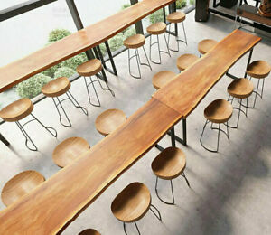 Design Esstisch LOFT Biertisch Stehtisch Bareinrichtung Massivholz