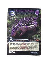 Carte Dinosaur King Sauropelta Alpha DKBD 024