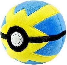 Pokemon 1 Plush Pokeball (5 inch, Quick Ball) new