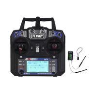 Flysky FS-i6 2.4G 6ch Transmitter FS-iA6B Receiver FPV Drone RC Airplane Heli