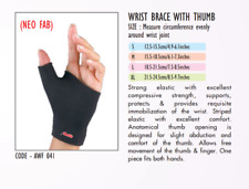 Surgical Wrist Brace With Thumb