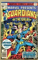 Marvel Presents #11-1977 fn 6.0 Guardians Of The Galaxy Death of Starhawk's Chil