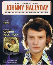CD Johnny HALLYDAY Country - Folk - Rock  1972  N° 32  la collection officielle