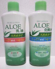 DAISO Japan Import ALOE Skin Care 2pks Skin Lotion / Milky Lotion Set