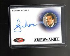James Bond Archives Final Edition  A225 Roger Moore  Autographed card