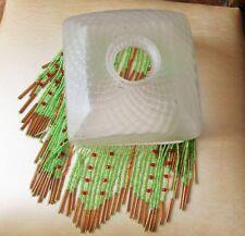 chapeau de lampe verre perles filées anciennes    @