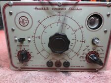 Restored Heathkit Condenser Checker