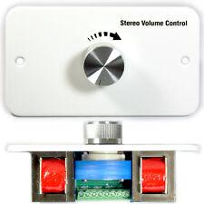 60W Stereo Lautsprecher Wand Lautstärkeregler Verkleidungsplatte – Einstellbar