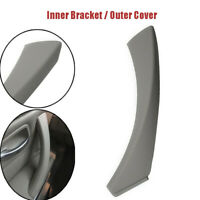Door Handle Gray Right Side Door Fits BMW 3 Series E90 Inner Bracket+Outer Cover