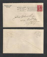 1900 EASTON & HOYT { WALL STREET } NEW YORK ADVERTISING COVER US SC #220