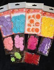 180 Flowers Lot assortment petals flower Handmade Mulberry Paper Fabric Party 12
