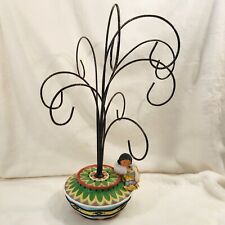 Enesco Friends Of The Feather Ornament Hanger Tree Display 758329