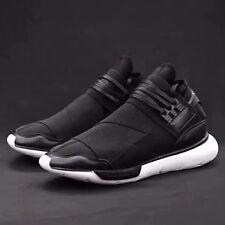 NEW Y3 Black Yohji Yamamoto Light Weight Lace Up Men's Trainers Qasa High Shoes