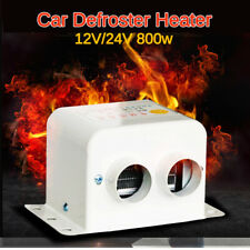 New Listing800W 24V Car Portable Heater Fan Demister Defroster Heating Heat Windscreen