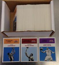 2001/02 Fleer Platinum Basketball 200 Card Base Set Kobe Bryant/Vince Carter