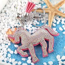 Unicorn Flamingo Key Chain Ring Key Holder Handbag Car Pendant Accessories Gifts