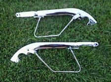 1998 SUZUKI VZ800 MARAUDER Strut Covers Grab Bars Cover Left Right Chrome
