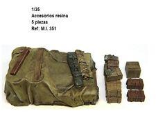 1/35 Resina WWII GERMAN TRUCK accesorios estiba maqueta tanque carro estiba kit