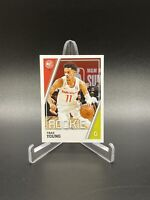 2018 Trae Young Panini Rookie Sticker Card #19 Near Mint, LOW PSA POP
