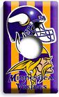 Minnesota Vikings Football Team Light Switch Outlet Wall Plates Sport Room Decor photo