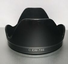 Fotodiox EW-78E Lens Hood Shade for Canon EF-S 15-85mm f/3.5-5.6 IS USM