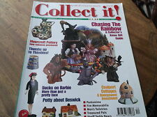 COLLECTABLE MAGAZINE COLLECT IT DEC 2000 #42 THIMBLES BARBIE COALPORT BESWICK