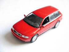Audi A4 / B5 Avant in laser rot rouge rosso roja red, Minichamps in 1:43!