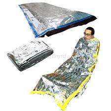 Nice Emergency Survival Outdoor Kit Rescue Thermal Space Sleeping Bag Blanket
