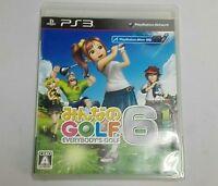 Minna no Golf Everybody's Golf 6 PS3 japan