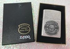 Vintage 1998 Antique Silver Plate Camel 85th Anniversary ZIPPO Lighter w/BOX