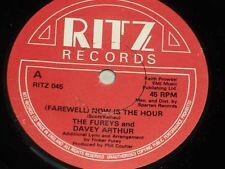 """Fureys & Davey Arthur: (Farewell) Now is the Hour   7""""   EX+"""