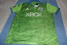 Seattle Sounders FC Jersey 2018 Home Shirt Adidas Mens Large MLS New