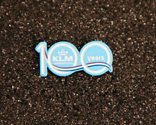 Pin KLM Royal Dutch Airlines 100 YEARS Celebration Pin for Pilots Crew metal pin