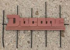 Vintage Ducane Air Conditioner Plastic Emblem Badge g25