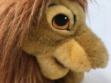 "DISNEY-The Lion King-ADULT SIMBA-Plush Toy Puppet-Large 22""-Official Product-EUC"