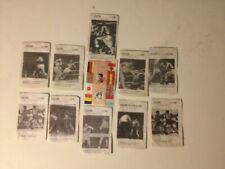Cromos de fútbol de coleccionismo