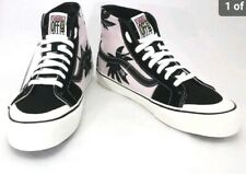 Vans Unisex Pink/black Palm SK8 Hightops Mens Size 9 New