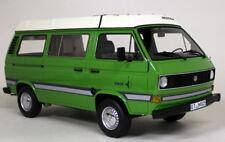 ClassiXXs 1/18 Scale VW Volkswagen T3 Westfalia Joker Green Resin cast model van