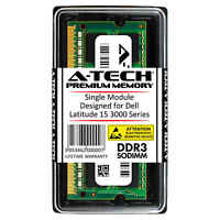 8GB DDR3 1600 MHz PC3-12800 Memory RAM for DELL Latitude 15 3000 Series