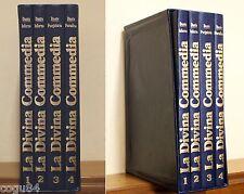La Divina Commedia - Dante Alighieri - 4 volumi - Ed. Euroricerca