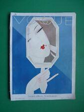 ORIGINAL Vogue PARIS magazine Decembre 1926 December Cover Art Deco BENITO RARE!