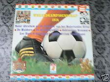 LP RECORD VINYL COVER VOETBAL WK 1974 FIFA SOCCER DURECO ELF 15.41
