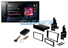 """NEW PIONEER 6.2"""" TOUCHSCREEN STEREO RADIO W/ CD/DVD PLAYER W/ IS300 INSTALL KIT"""
