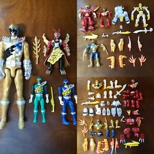Power Rangers Dino Charge Mixx N Morph Huge Lot Bandai Saibans