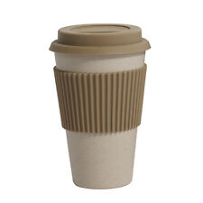 NORDAL Kaffeebecher Coffee to Go Bambus beige
