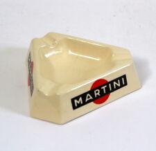 Cendrier Martini ancien en faïence Lunéville