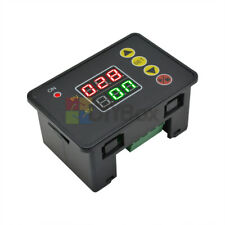12V Intelligent Digital Dual LED Time Delay Relay Timer Cycle Controller Module