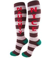 Gumball Poodle Naughty Nice Knee High Socks Red White FREE POSTAGE Fun Funky