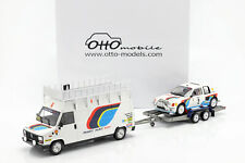 3-Car Set Winner Rallye Monte Carlo 1985 Peugeot Talbot Sport 1:18 ottomobile