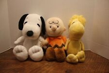 Kohl's Care Peanuts Snoopy Charlie Brown Woodstock Plush
